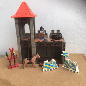 Playmobil Medieval Cenário 2 De Castelo Frete Veja Texto