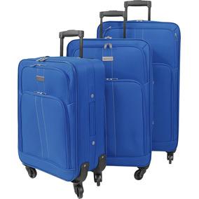 Maleta De Viaje Omni Setx3 Azul Explora
