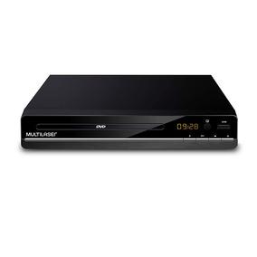 Dvd Player Com Saida Rca 2.0 E Usb Multilaser - Sp252