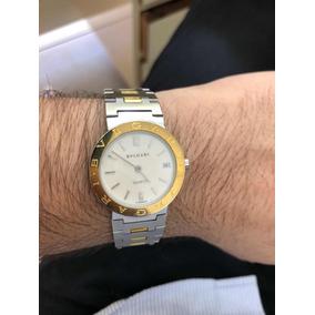 2ee48a03034 Relógio Bvlgari L9030 Fabrique En Suisse Bb 33 Quartz - Relógios no ...