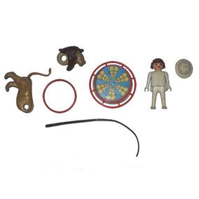Brinquedo Boneco Playmobil - Domador De Feras Circus