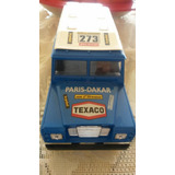 56afd3b65e6 Miniatura Land Rover Burago 1 24 Paris - Dakkar Anos 1970