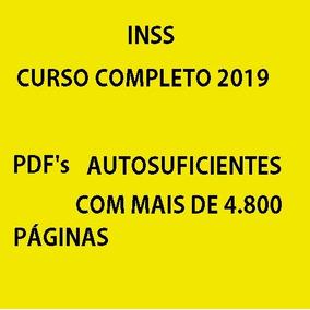 Técnico Do Seguro Social - Inss - Curso Completo - 2019
