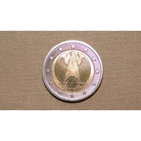 Belíssima Moeda De Dois Euros Da Alemanha
