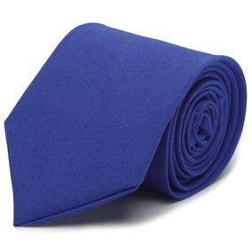 Kit 12 Gravatas Azul Royal Fosca Para Padrinhos Casamento · R  120 82995ca883