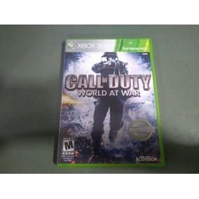 Jogo Call Of Duty World At War Para Xbox360 Seminovo