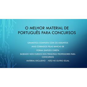 Português Para Concursos Públicos