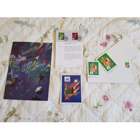 Selos, Postal E Envelope Da Copa Da França 1998