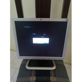 Monitor Hp L1710 17 Con Sus Cables