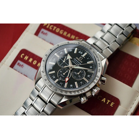4a5306aa4c3 Omega Speedmaster Broad Arrow Co-axial Gmt 44mm - Lindo