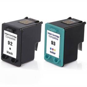 Par Cartucho Novo 92 93 P/ Impressoras 1510 C3180 C4180