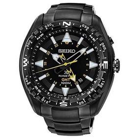 b540e0dafa1 São Paulo · Relogio Seiko Sun047p1 Prospex Kinetic Gmt Automatico Black