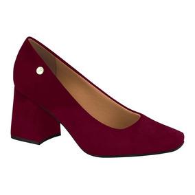 0c9109cd7 Sapato Scarpin Feminino Vizzano Bordo Mulher - Sapatos no Mercado ...