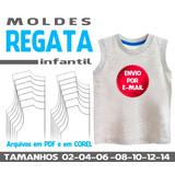 Molde Regata Infantil Feminina no Mercado Livre Brasil bd07e37cfb2
