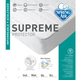 Protector Cubre Colchon Spring Air Impermeable Individual