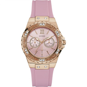 8c7293bd854 Relógio Guess Womens U0147l3 Polished Glamour Rose Masculino ...