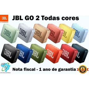 Caixa De Som Jbl Go 2 Portátil Original Todas Cores