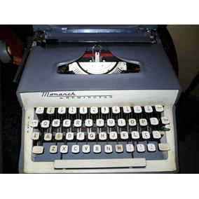 Máquina De Escrever Monarch By Remington Original De Época
