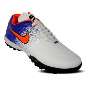 Tenis Futbol Rapido - Tacos y Tenis Nike Blanco de Fútbol en Mercado ... 9b1fa26e08b3b