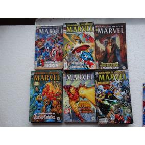 Grandes Heróis Marvel Nºs 1 A 6! 2ª Série! E. Abril 2000!