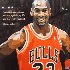 Cuadro De Michael Jordan - Decoración para el Hogar en Mercado Libre ... 8339ac56411