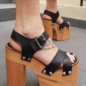 Sandalias Mujer Plataforma Madera - Sandalias de Mujer en Mercado ... 0e41c46c2df