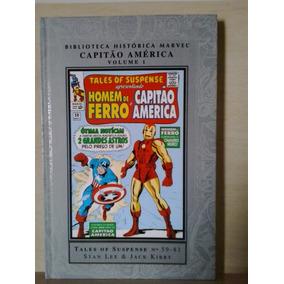 Biblioteca Histórica Marvel Capitão América N° 1