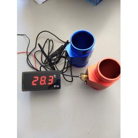 Marcador De Temperatura Digital 12v Completo