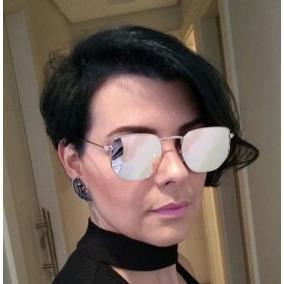 4226912be055d Óculos Hexagonal Feminino Espelhado - Óculos no Mercado Livre Brasil