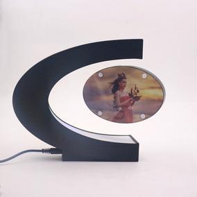 Porta Retrato Flutuante Magnético Led Presente Decoração