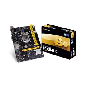 Tarjeta Madre Intel Motherboard 1151 M-atx Biostar H110mhc