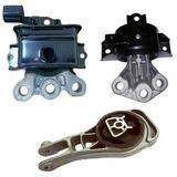 Kit Coxim Calço Motor Cambio Onix 1.0/1.4 Manual 2013/..