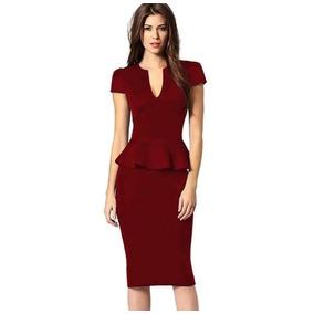 Vestido Rojo Entallado
