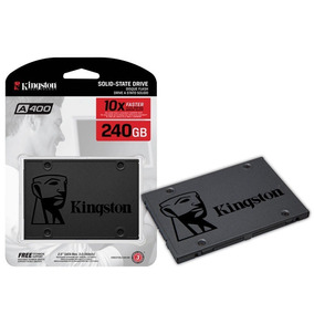 Hd Ssd Kingston 240gb Ssdnow A400 Sata 3 6gb/s 500mb/s