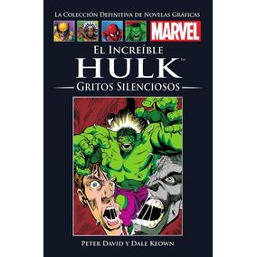 Hulk Gritos Silenciosos Marvel Colección Novelas Graficas.