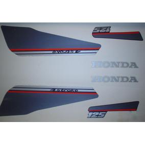 Kit Adesivos Honda Ml 125 1988 Azul