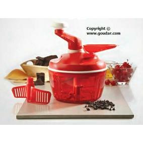 Quick Chef Tupperware Vermelho + Brinde