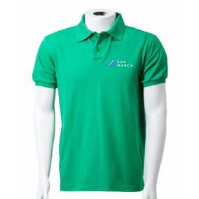 Kit50 Camisas Pólo Masc. Mc Frete Grátis Bordado Incluso b29a5a39da13f