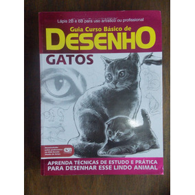 Revista Guia Curso Básico De Desenho: Gatos
