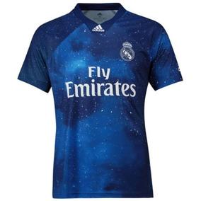 4c1412525 Camisa Real Madrid Azul 2018 Times Espanhois - Camisas de Futebol no  Mercado Livre Brasil
