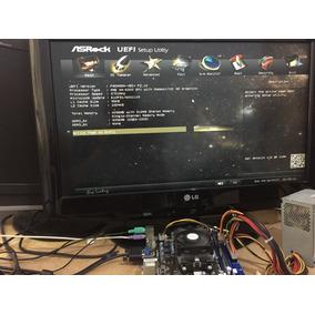 Fm2a55m-vg3 + Processador A4 6300 + 4gb Ddr3 1333mhz