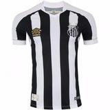 ab570a36e0 Camisa Do Santos 2018 2019 Listrada Pronta Entrega Masculino