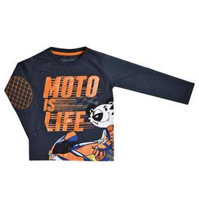 Camiseta Chumbo Manga Longa Tigor T.tigre 10204671 261fb0eabdb3c