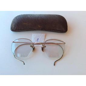 Oculos Antigo Redondo Armacoes - Óculos no Mercado Livre Brasil 466b25d12f