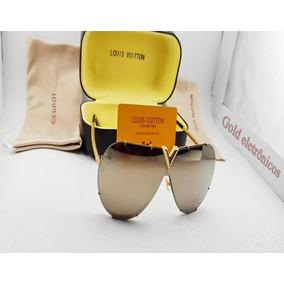 Óculos Louis Vuitton Lv Ouro 18k Surpreenda-se Com O Melhor. 546f882947