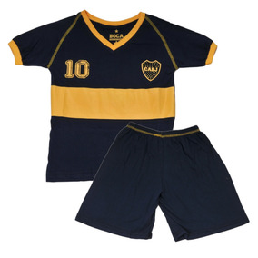 Pijama Infantil Mini Xeneize Boca Juniors
