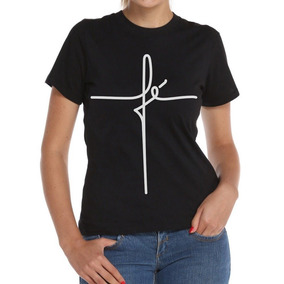 Camiseta Blusinha Blusa Feminina Camisa Fé Evangélica Gospel fc430d674de07