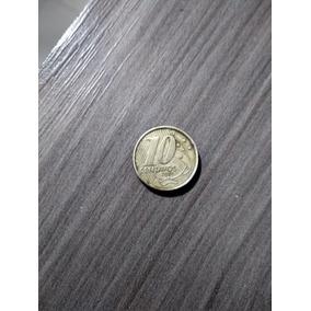 Moeda De 10 Centavos Inversa De 2001