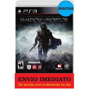 Middle Earth Shadow Of Mordor Legion Edition Ps3 - Português