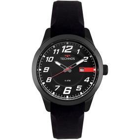 Relógio Masculino Original Technos 2115 Preto C/ N F